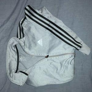 "Adidas ""Three Stripe"" Zip Jacket"